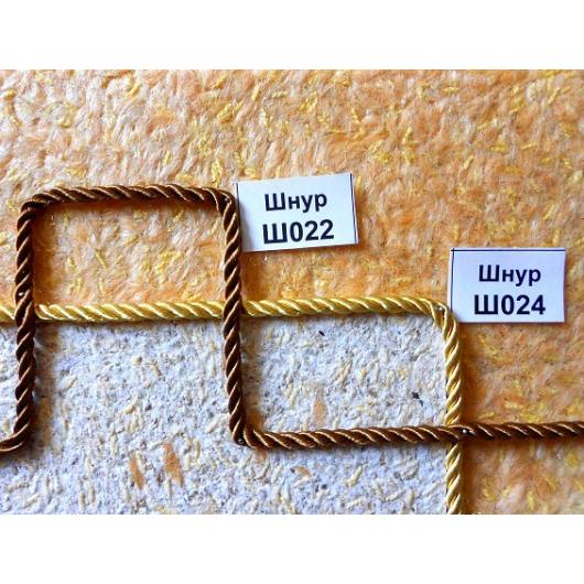 Декоративный шнур Limil № 22 светло-коричневый - изображение 3 - интернет-магазин tricolor.com.ua