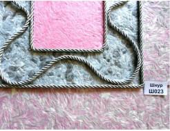 Декоративный шнур Limil № 23 серебристый - изображение 3 - интернет-магазин tricolor.com.ua
