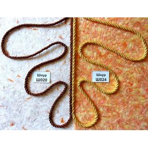 Декоративный шнур Limil № 24 желтый - изображение 2 - интернет-магазин tricolor.com.ua