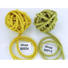 Декоративный шнур Limil № 24 желтый