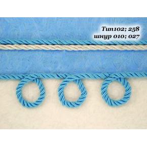 Декоративный шнур Limil № 27 голубой - изображение 2 - интернет-магазин tricolor.com.ua