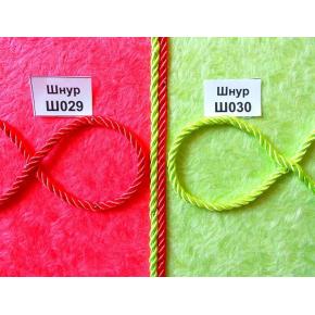 Декоративный шнур Limil № 30 салатовый - изображение 2 - интернет-магазин tricolor.com.ua