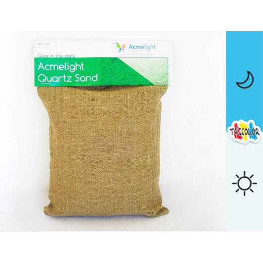 Люминесцентный кварцевый песок AcmeLight Quartz Sand голубой - интернет-магазин tricolor.com.ua