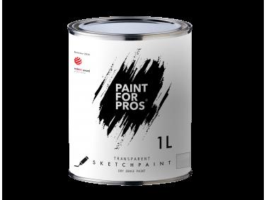 Краска интерьерная маркерная Paintforpros однокомпонентная прозрачная