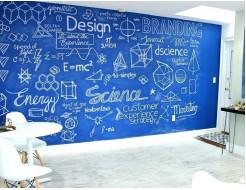 Интерьерная грифельная краска Le Vanille Miracle синяя - изображение 2 - интернет-магазин tricolor.com.ua