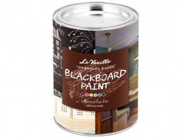 Интерьерная грифельная краска Le Vanille Miracle коричневая