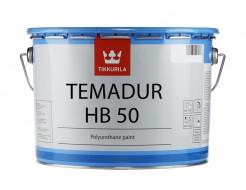 Краска акрилоуретановая 2К Темадур ХБ 50 Tikkurila Temadur HB 50 TVL белая - изображение 2 - интернет-магазин tricolor.com.ua