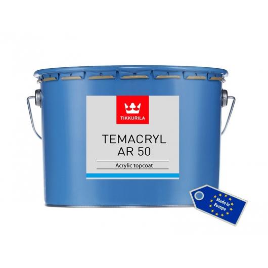 Краска акриловая Темакрил АР 50 Tikkurila Temacryl AR 50 TCL прозрачная - изображение 2 - интернет-магазин tricolor.com.ua