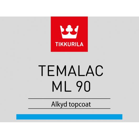 Краска алкидная Темалак МЛ 90 Tikkurila Temalac ML 90 TAL белая - изображение 2 - интернет-магазин tricolor.com.ua