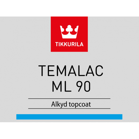 Краска алкидная Темалак МЛ 90 Tikkurila Temalac ML 90 TCL прозрачная - изображение 2 - интернет-магазин tricolor.com.ua