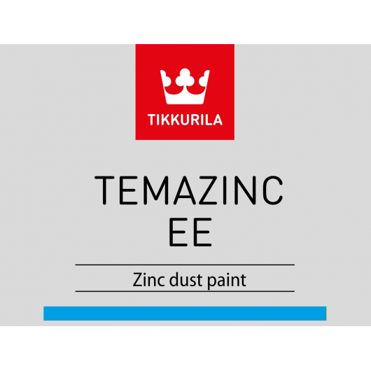 Краска эпоксидная Темацинк ЕЕ Tikkurila Temazinc EE серая - изображение 2 - интернет-магазин tricolor.com.ua