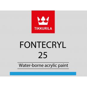 Краска акриловая по металлу Фонтекрил 25 Tikkurila Fontecryl 25 FCL - изображение 2 - интернет-магазин tricolor.com.ua