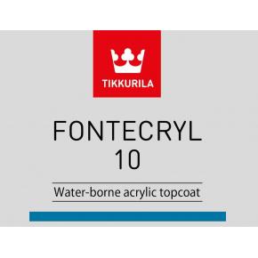Краска-грунт акриловая по металлу Фонтекрил 10 Tikkurila Fontecryl 10 FAL - изображение 2 - интернет-магазин tricolor.com.ua