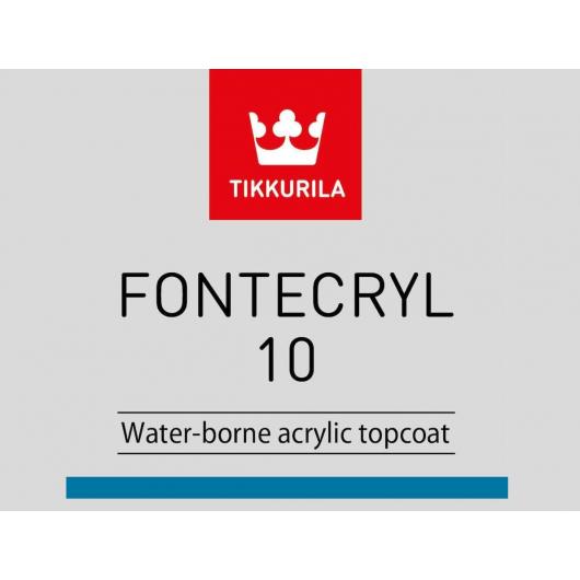 Краска-грунт акриловая по металлу Фонтекрил 10 Tikkurila Fontecryl 10 FCL - изображение 2 - интернет-магазин tricolor.com.ua