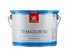 Краска акрилоуретановая 2К Темадур 50 Tikkurila Temadur 50 крупный металлик TML - изображение 2 - интернет-магазин tricolor.com.ua