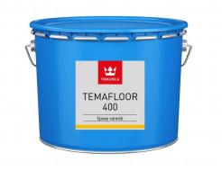 Лак эпоксидный 2К Темафлор 400 Tikkurila Temafloor 400 - изображение 2 - интернет-магазин tricolor.com.ua