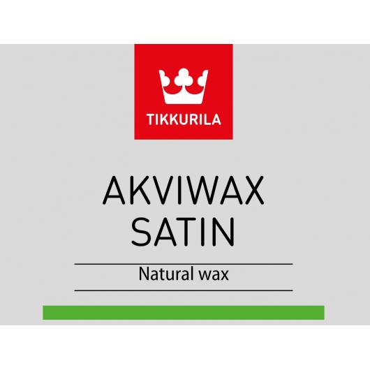Воск для дерева Аквивакс Сатин Tikkurila Akviwax Satin TCW - изображение 2 - интернет-магазин tricolor.com.ua