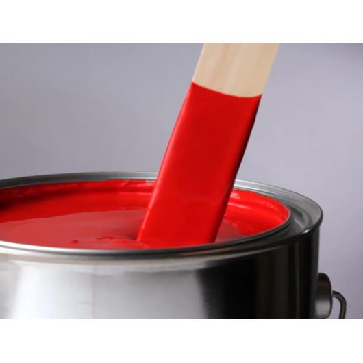 Краска для бордюров красная