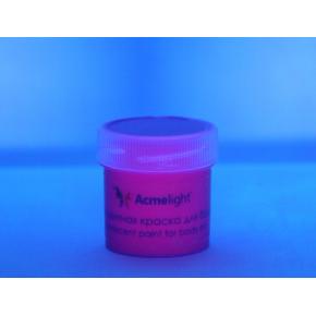 Аквагрим флуоресцентный AcmeLight для тела фиолетовый 20 мл - изображение 2 - интернет-магазин tricolor.com.ua