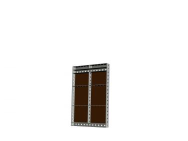 Опалубка БудМайстер щит универсальный 900*900 полимерное покрытие