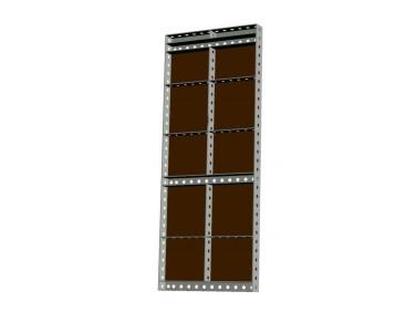 Опалубка БудМайстер щит универсальный 1500*600 полимерное покрытие