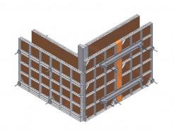 Угол внешний Будмайстер 1500 полимерное покрытие - изображение 2 - интернет-магазин tricolor.com.ua