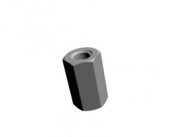 Гайка специальная БудМайстер полимерное покрытие
