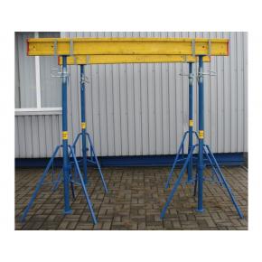 Стойка телескопическая БудМайстер Hard 3500 полимерное покрытие - интернет-магазин tricolor.com.ua