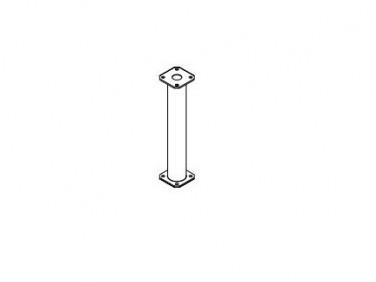 Подпорка стойки БудМайстер 500 полимерное покрытие