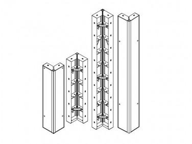 Опалубка БудМайстер щит угловой 300*300*1500 полимерное покрытие