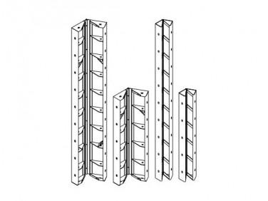 Угол шарнирный Будмайстер 150*150*2700 полимерное покрытие