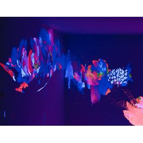 Краска флуоресцентная AcmeLight для творчества белая 20 мл - интернет-магазин tricolor.com.ua