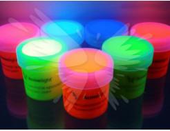 Краска флуоресцентная AcmeLight для творчества желтая 20мл - изображение 2 - интернет-магазин tricolor.com.ua