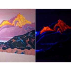 Краска флуоресцентная AcmeLight для творчества оранжевая 20 мл - интернет-магазин tricolor.com.ua