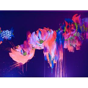 Краска флуоресцентная AcmeLight для творчества розовая 20 мл - интернет-магазин tricolor.com.ua