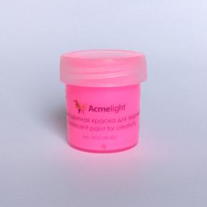 Краска флуоресцентная AcmeLight для творчества розовая 20 мл - изображение 4 - интернет-магазин tricolor.com.ua