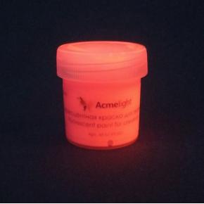 Краска флуоресцентная AcmeLight для творчества розовая 20 мл - изображение 5 - интернет-магазин tricolor.com.ua