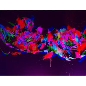 Краска флуоресцентная AcmeLight для творчества красная 20 мл