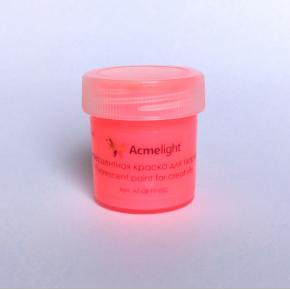 Краска флуоресцентная AcmeLight для творчества красная 20 мл - изображение 5 - интернет-магазин tricolor.com.ua