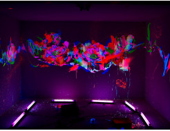 Набор флуоресцентных красок для творчества AcmeLight 8 шт - изображение 2 - интернет-магазин tricolor.com.ua