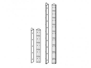 Угол внешний Будмайстер 121*121*3000 полимерное покрытие