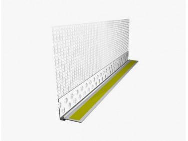 Профиль примыкающий для оконных рам и дверных откосов Caparol Capatect 6 мм