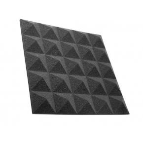 Акустическая панель пирамида 30 мм 45х45 см Pyramid Gain Black