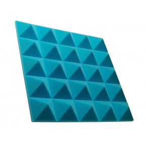 Акустическая панель пирамида 50 мм 45х45 см Pyramid Gain Blue