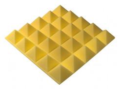 Акустическая панель пирамида 30 мм 45х45 см Pyramid Gain Yellow - изображение 2 - интернет-магазин tricolor.com.ua