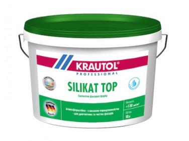 Краска фасадная Krautol Silikat Top В1 для минеральных поверхностей