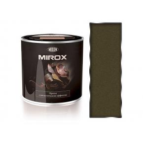 Краска декоративная с металлическим эффектом 3 в 1 Mixon Mirox серая 1035 - интернет-магазин tricolor.com.ua
