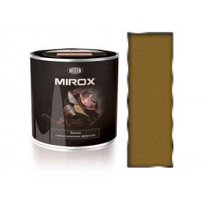 Краска декоративная с металлическим эффектом 3 в 1 Mixon Mirox золотистая 1036 - интернет-магазин tricolor.com.ua