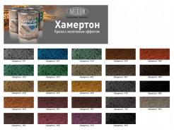 Краска алкидная 3 в 1 Mixon Хамертон темно-коричневая 609 молотковый эффект - изображение 2 - интернет-магазин tricolor.com.ua