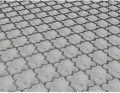 Форма для тротуарной плитки МАО Конюшина гладкая 26,7*21,8*2,5 - изображение 2 - интернет-магазин tricolor.com.ua